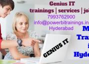 Microsoft msbi certification training in hyderabad @ 7799771214