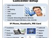 Callcenter dialer, ip pbx, ivr, tts (text 2 speec