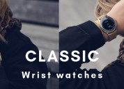 24 hrs water resistant wristwatch