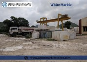 White marble shree abhayanand marble industries ud