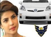 Priya golani brand ambassador of toyota prius hybr