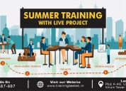 2019- summer training & certification in noida-tra