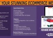Get your stunning ecommerce website
