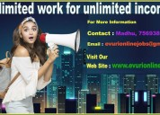 Part time & full time home based data entry jobs