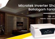 Microtek inverter shop in ballabhgarh, faridabad