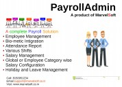 Payroll management software by marvelsoft