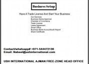 Get rak freezone business license