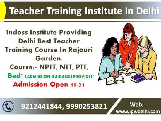 ntt nptt course institute new delhi