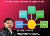 Different types of customer segmentation