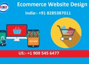 Ecommerce website design starts from just 14999 in