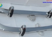 Saab 96 longnose bumper by stainless steel ( 1965