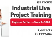 Industrial live project training