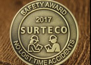 Custom challenge coins | safety award cheap challe