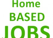 Home based work, no investment