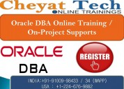 The best oracle dba online training – cheyat tech