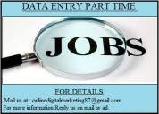 We have two types of jobs.data entry & ad posting