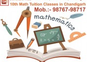 Best coaching for 10th  class maths in chandigarh