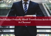 Find pocket friendly hindi translation services