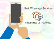 Bulk whatsapp services indore