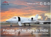 Private jet for sale in india - arrow aircraft