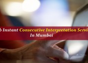 Grab instant consecutive interpretation services
