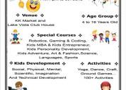 Best innovative kids summer classes center in pune