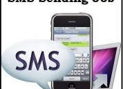 Part time homebased sms sending jobs online