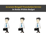 Accurate bengali translation service in noida with