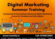 Digital marketing summer training with 3 months