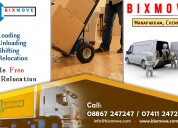 Bixmove packers and movers manapakkam,chennai