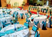 Online services of party venues and restaurants