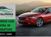 Best self drive car rentals in coimbatore