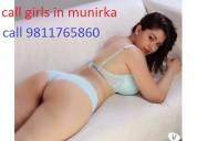 Call girls in munirka escorts service  9811765860