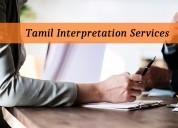 Find accurate tamil interpretation services