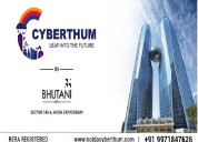 Noida cyberthum | commercial space sector 140a