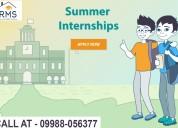 Summer internship in chandigarh 2019