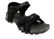 Buy designer Vostro Ace-3 Black Men Sandals Online