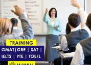 Gre, gmat, sat, ielts, toefl, and pte coaching