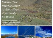 Kanamo trek from ex manali