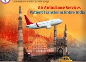 Hi-tech 24*7 days air ambulance in delhi