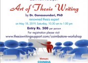 The art of thesis writing