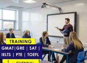 Gre, gmat, toefl, pte, and sat coaching classes