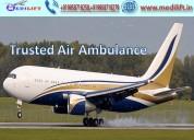 Hire masterly air ambulance service in ranchi