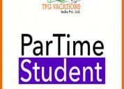 Online part - time home based work.