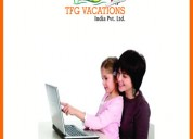 Online promoter required for tourism company tfg