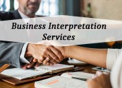 Grab accurate business interpretation services