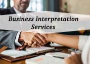 Grab accurate business interpretation services