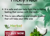 Herbal treatment for prickly heat