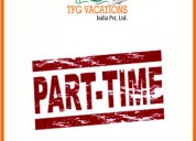 Part time jobs offer by tourism company tfg
