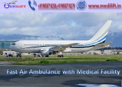 Medilift air ambulance service in patna